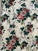 Waverly Pleasant Valley Floral 85andrdquo Round Tablecloth Custom Lined Cotton