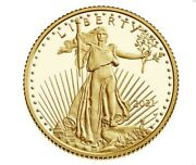 American Eagle 2021 One-tenth Ounce Gold Proof Coin - 21ee