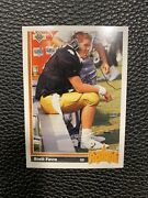 1991 Upper Deck Brett Favre Atlanta Falcons 13 Football Card