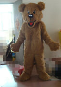 Long Plush Hair Lion Mascot Costumes Hot Sale Holiday Clothing Christmas Party @