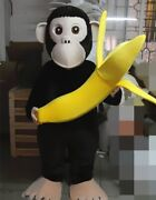 Monkey Mascot Costume Suits Cosplay Party Game Fancy Dress Outfits Advertising
