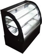 220v 35.4and039and039 Long Refrigerated Display Case Commercial Pie Cake Showcase Cabinet