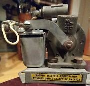 Antique Wagner Electric 12 Volt Fuel Water Oil Pump 5andtimes3 Car 1920s 1930s Ford