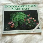 Indoor Gardening Made Easy For The Australian Home 1996 Vintage 90s Ferns