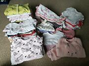 Baby Girl 0-3 Months Bundle. 76 Items, Different Brands