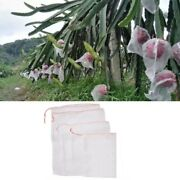Net Bags Set Accessories Against Insect Birds Netting 100pcs Yard Nylon