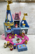 Fisher-price Little People Disney Princess Musical Dancing Castle Tested Works