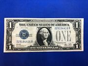 Series 1928 B 1 Dollar Funny Back Silver Certificate
