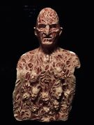 Freddy Inferno Part 4 2.0 Silicone Krueger Mask And Chest Of Souls By Wfx