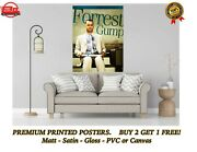 Forrest Gump Classic Movie Art Large Poster Print Gift A0 A1 A2 A3 A4 Maxi