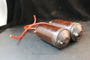 1930's Vintage Mallory Ignition Coils - 6v - Pair
