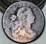 1798 Draped Bust Large Cent 1c Good Details Full Liberty Us Copper Coin Cc7122