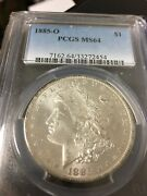 1885 O Silver Morgan Dollar Minted At The New Orleans Mint A Beauty