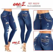 Ene 2jeans Colombianosauthentic Colombian Push Up Jeanslevanta Cola