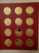 Franklin Mint 1973-78 Operaand039s Most Beautiful Moments 60 Sterling Silver Medals