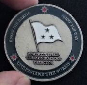 Authentic 3 Star Admiral Director Ngia National Geospatial Agency Challenge Coin