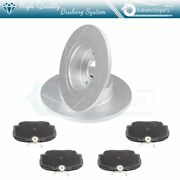 Rear Ceramic Brake Pads And Rotors For 99-04 Land Rover Discovery Slotted