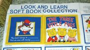 Soft Book Collection The Three Little Pigs Fabric Panel