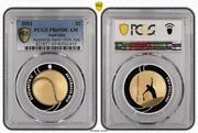 2012 Australian 2 Tennis Selectively Gold Plated Silver Proof Pcgs Pr69dcam