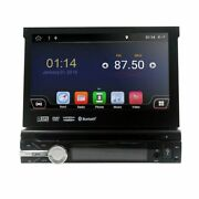 Android 10.0 2+32gb Single 1 Din Gps Car Stereo Cd Dvd Player Bt 7 Touch Screen