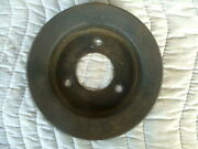 C8ae-6312-e 2 Groove Crank Pulley Ford 390 360 428 Power Steering
