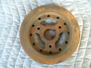 C4ae-6316-b 1 Groove Crank Pulley Ford 390 360 428
