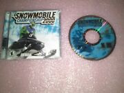 Snowmobile Championship 2000 Pc, 2000 With Booklet