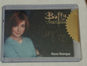 Buffy Ultimate Collection Series 3 - Alyson Hannigan Gold Autograph Card