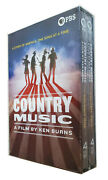 Country Music A Film By Ken Burns 8-disc Dvd Brand New Free Shipping Region 1