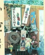 Changing Seasons Wall Quilt Pattern Welcome Banner 4 Different Panels