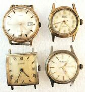 Vintage Dorset Timex Rogelin And Grand Mechanical Wrist Watches.