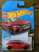 Hot Wheels And03919 Mercedes Benz A-class Red 194 194/250 Nightburnerz New.