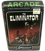 Rare The Eliminator By Adventure International Commodore 64 Complete 5.25 Disk