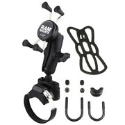 Ram Mount Strap Clamp Roll Bar Mount W/universal X-gripandreg Cell/iphone Cradle