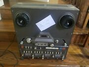 Rare Vintage Tascam 34b Reel To Reel Tape Machine Analog 4-track For Parts