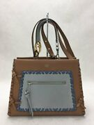 Fendi Runaway 2way Shoulder Bag Leather Brw 8bh344 A316