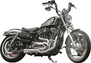 Two Brothers Stainless/carbon 2-1 Comp S Exhaust 2014-2020 Harley Sportster