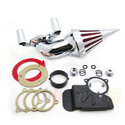 Air Cleaner Kits Spike Chrome For 08- 12 Harley Dyna Electra Glide Flhx Road K