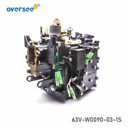 Crank Cylinder Assy 63v-w0090-03-1s For Yamaha 2t 9.9hp 15hp Hdx Outboard Motor