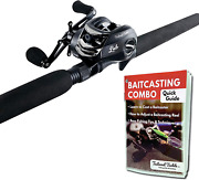Tailored Tackle Bass Fishing Baitcasting Combo 7 Ft 2 -piece | Casting Rods Med.