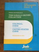 Stackandrsquos Auction Catalogue The Donald Groves Collection Colonial And Us Coins 1974