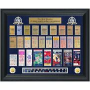New York Yankees Limited Edition World Series Tickets And Coin Display