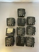 Lot Of 10 Bb-2001a/u Rechargeable Battery Military Radio Lithium Ion / Bt-70581b