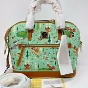 Nwt Genuine Dooney And Bourke Disney Parks Bambi And Friends Satchel Actual Bag