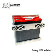Mpc Billet Hold Down Tray | Battery Box For Pc680 Odyssey Battery [silver] [usa]