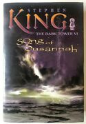 Song Of Susannah Stephen King Dark Tower Vi Hc 1st Edition 2004 Grant Excellent