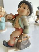 Hummel Figurine 6 Merry Wanderer From The 60's Amazing Condition.
