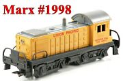 Marx 1998 Union Pacific Up Alco S-3 Diesel Switcher /169/