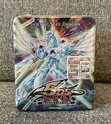 Yugioh Majestic Star Dragon Tin Brand New Sealed - Has Stardust Overdrive 1st X2