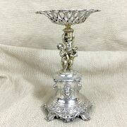 Antique Silver Plated Table Centrepiece 19th Century Figures Alexander Macrae